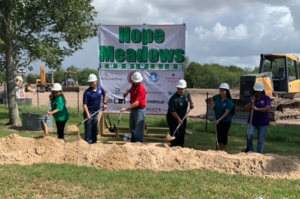 Hope Meadows Groundbreaking Ceremony