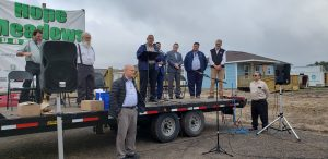 Hope Meadows Home Dedication